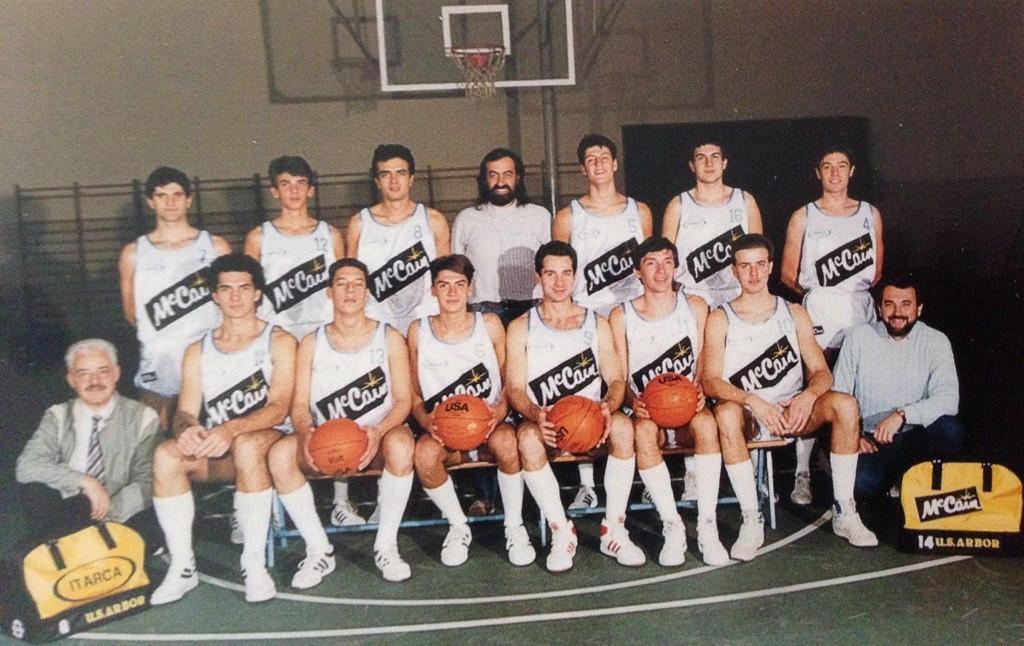 1986/87 – Il debutto dello sponsor Itarca McCain con questa sqaudra al via nella promozione